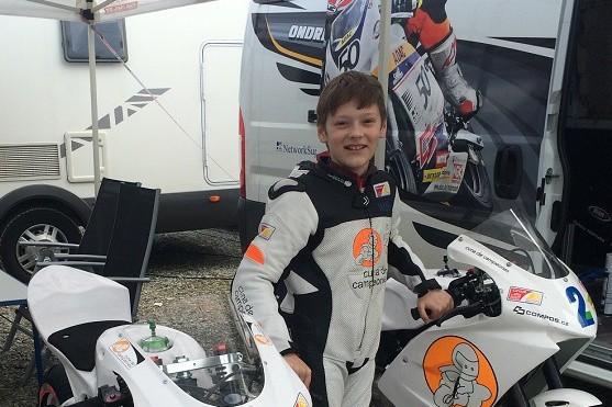 Ondøej Vostatek vybojoval první body sezony