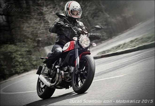 Ducati Scrambler Icon - do mìsta i na pláž