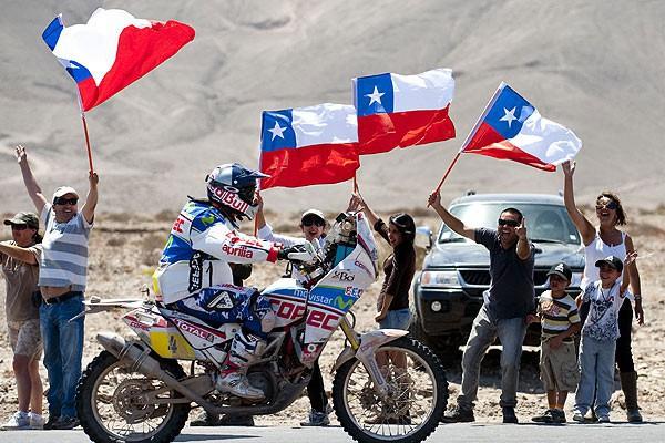 Dakar 2016 bez chilských etap