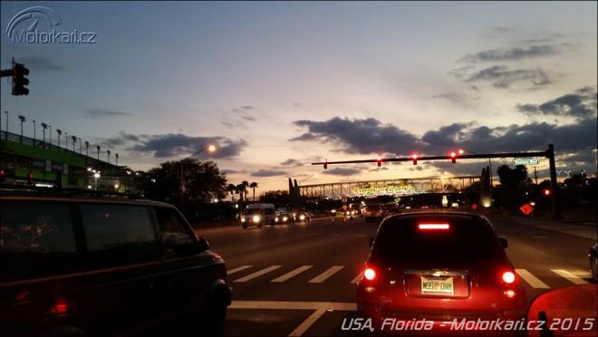 S motorkou na Floridì