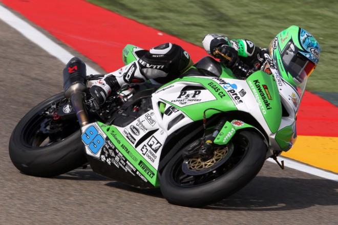 Kawasaki Intermoto má první dvì øady na startu