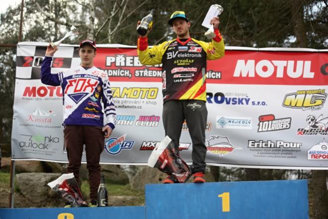 V Kramolínì zajel Terešák na druhé místo v MX2