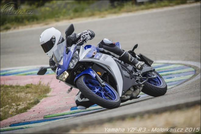 Yamaha YZF-R3: první jízda