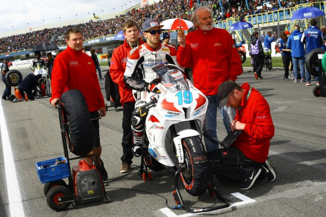 SMS Racing mìl v Assenu smùlu