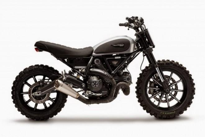 Koncept Ducati Scrambler Dirt Track