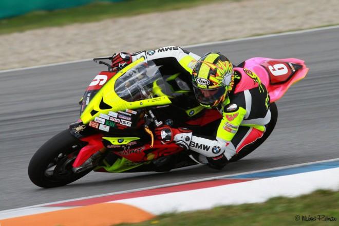 Michal Prášek je po zranìní zpátky, vyhrál oba závody v Brnì