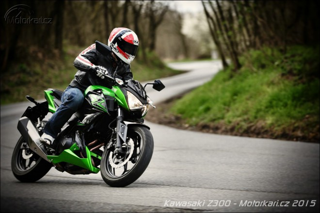 Kawasaki Z300 – Á dva Zed