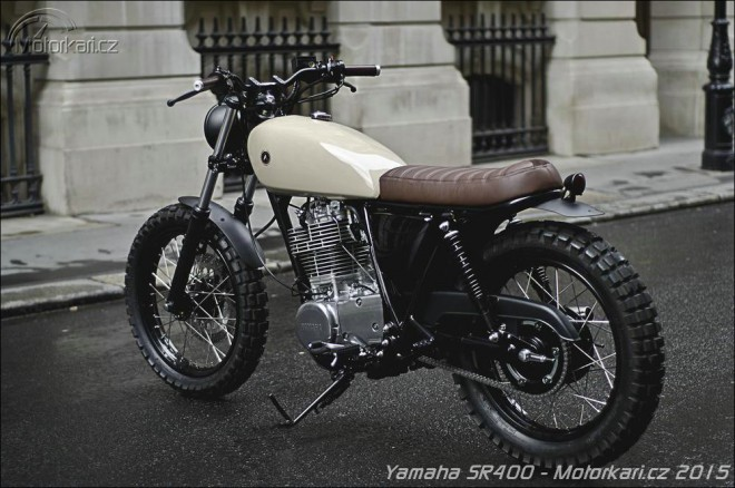 Factory fresh: Yamaha SR400