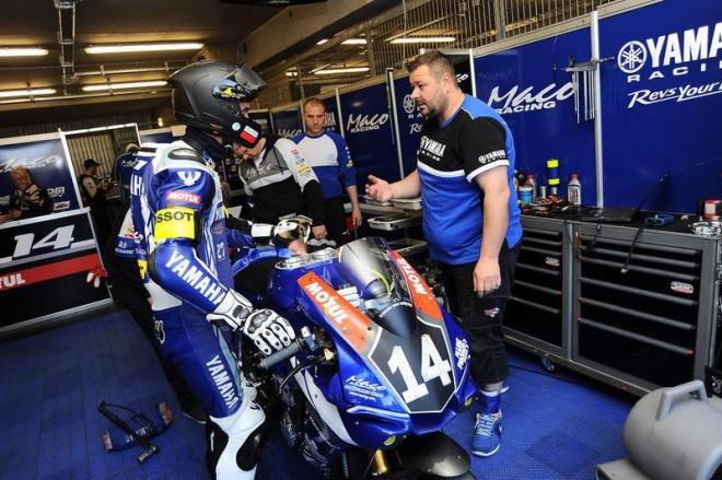 Tým Yamaha Maco Racing zajel vLe Mans na dvanácté místo