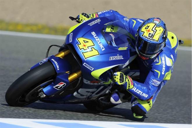 Aleix Espargaró je také v Jerezu zatím velmi rychlý