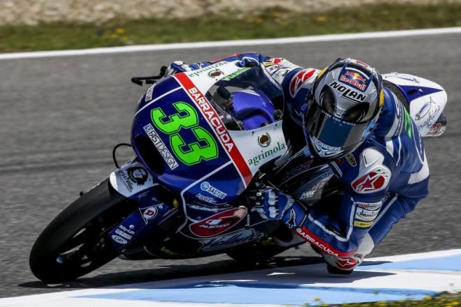V Jerezu testovali jezdci nejnižší kubatury Moto3