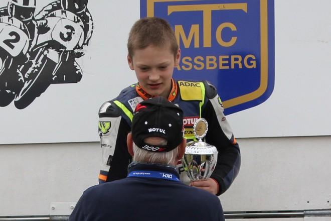 Vostatek vyhrál úvodní dva závody ADAC Mini Bike Cupu