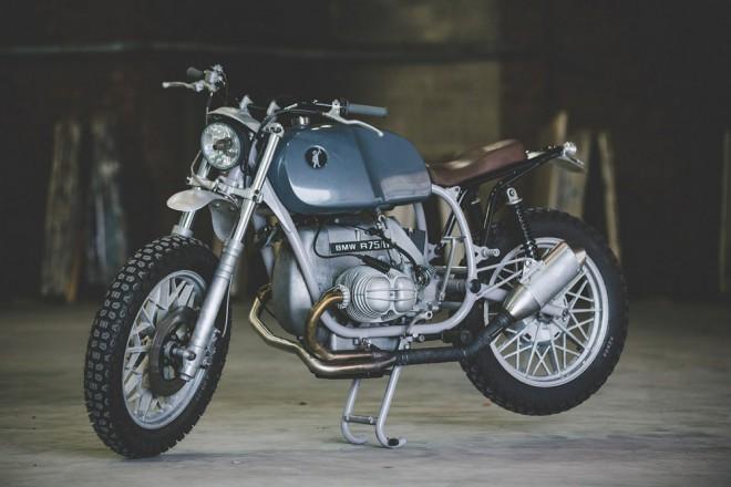 BMW R75/6: strohý funkcionalismus
