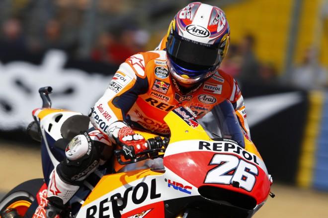 Pedrosa od dubna nesedìl na motorce, po páteèních trénincích je ale sedmý