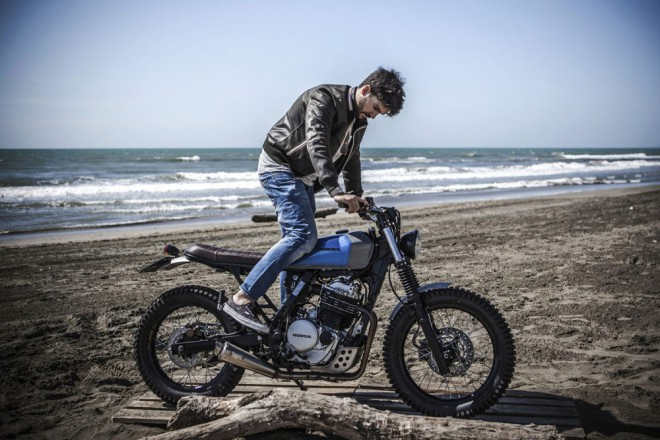 Beach body Honda Dominator
