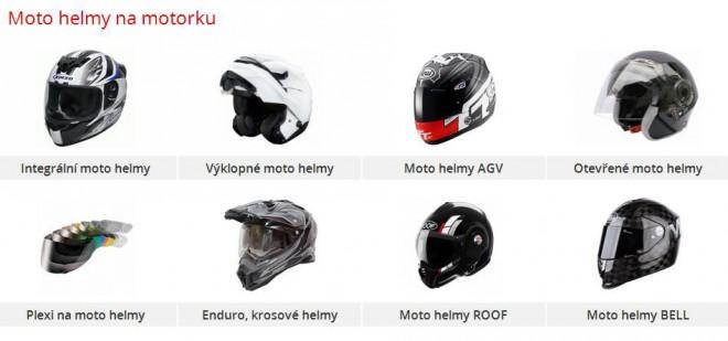 Vyberte si tu správnou moto helmu