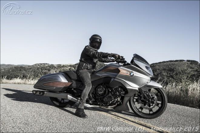 BMW Concept 101 - šest válcù pro bagger