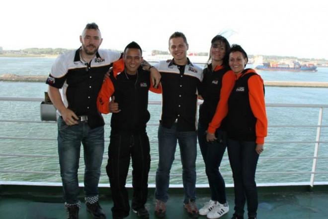 Cesta týmu MIRT na ostrov Man