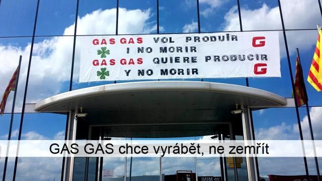 Gas Gas øeší existenèní problémy
