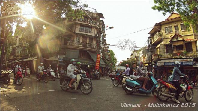 Punk na silnici mezi deltou Mekongu a jižní hranicí Èíny