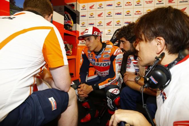 Byla to naše nejhorší kvalifikace v MotoGP, konstatoval Márquez