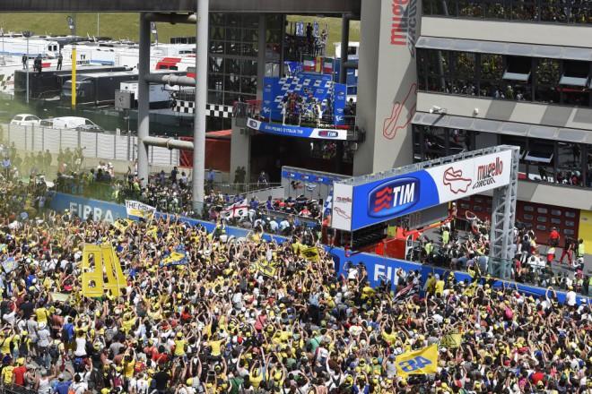 GP Itálie – Lorenzo slaví tøetí triumf, Iannone byl druhý, Rossi tøetí