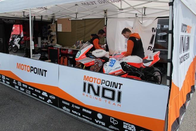 První trénink Michala Dokoupila na letošní TT