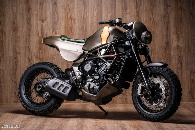 �Nezkrotn� MV Agusta Rivale od Officine GP Design