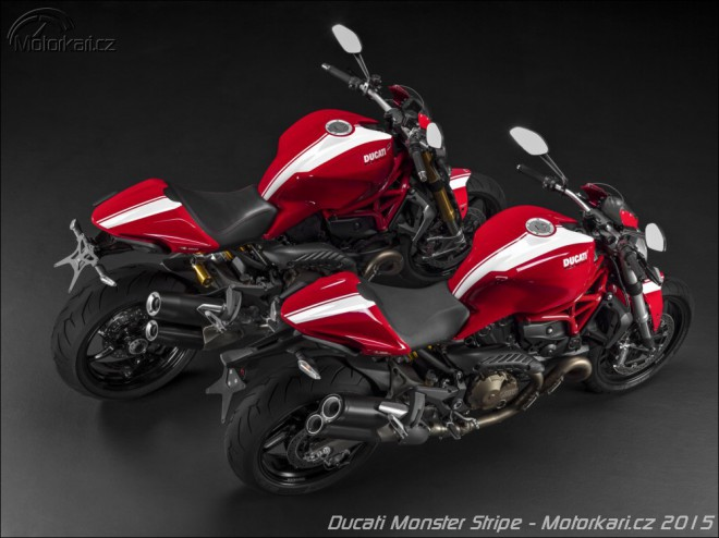 Ducati vypustila Monstery ve variantì Stripe