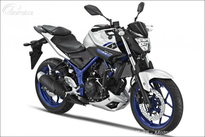 Yamaha MT-25 pro Asii, Evropa si poèká na MT-03
