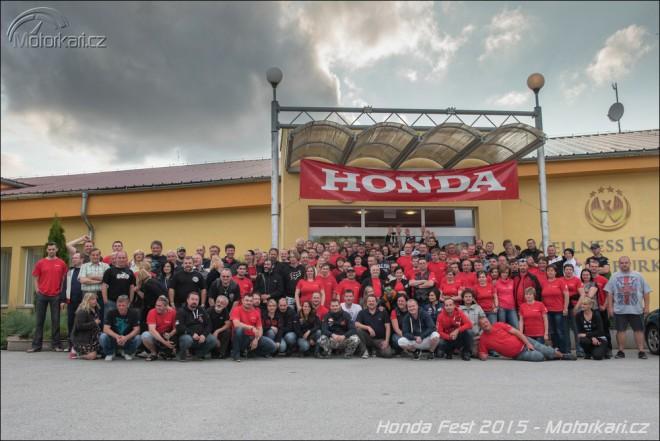 Honda Fest 2015: další skvìlé 3 dny v sedle