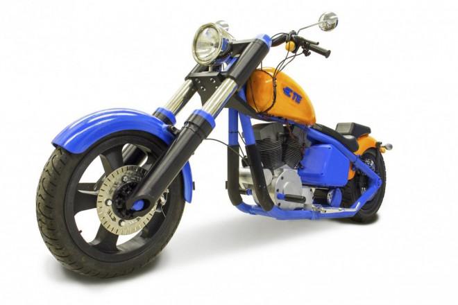 První funkèní motorka vyrobená na 3D tiskárnì