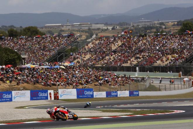 V Katalánsku testují týmy MotoGP