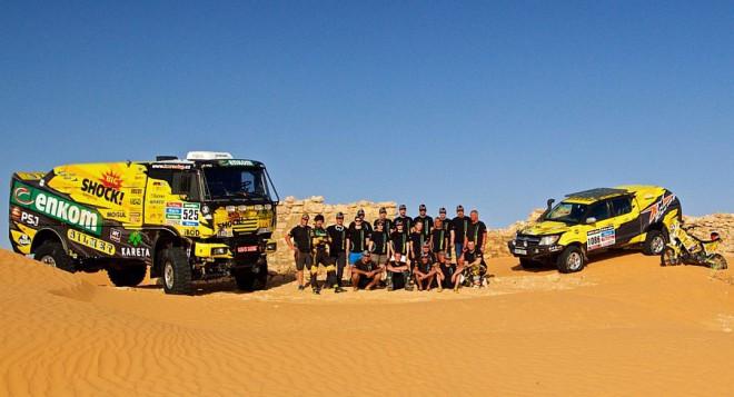 KM Racing se chystá na Dakar