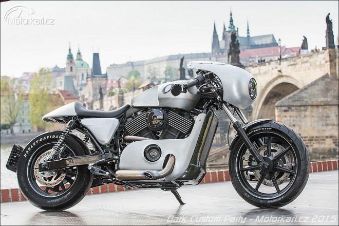 Evropským Králem Customù Harley-Davidson je Praha!