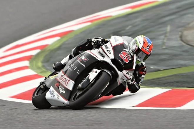 V Barcelon� testovali jezdci Moto2 nov� pneumatiky