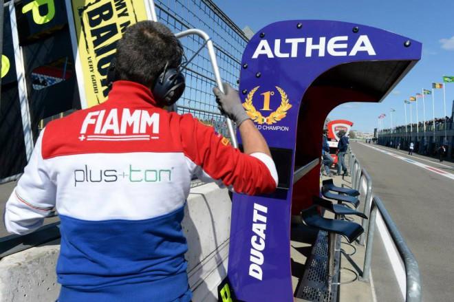 V barvách Althea Racing pojede v Misanu Baiocco s Canepou