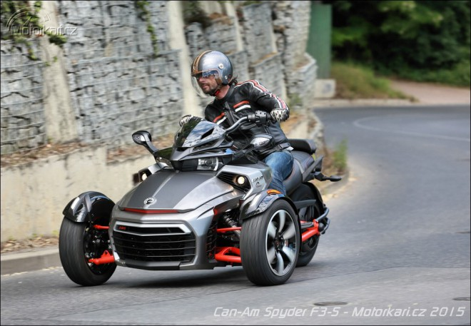 Can-Am Spyder F3-S: cruiser na tøetí