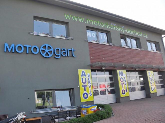 Motogart otevøel nový servis v Praze