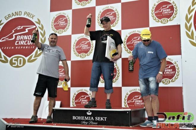 Po vydaøeném Brnì míøí Yamaha Dunlop cup do Mostu