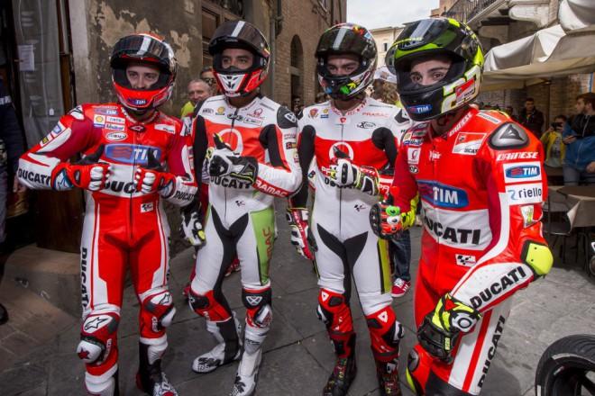 V roce 2016 bude Ducati MotoGP na stejné lodi jako Yamaha a Honda