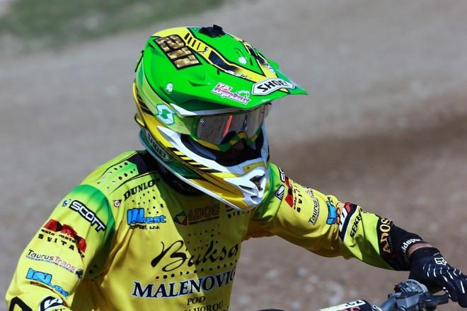 Prodloužený víkend byl v Jinínì ve znamení špièkového motokrosu