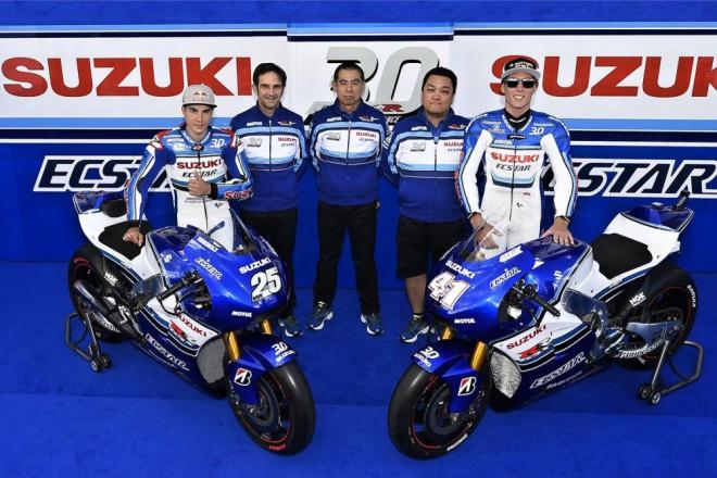 Suzuki slaví tøicet let GSX-R, tým MotoGP pøedstavil nové barvy