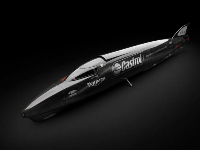 Guy Martin se v sedle Triumphu pokusí pøekonat rychlostní rekord