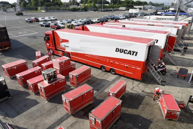 V Misanu testovala dva dny italská Ducati