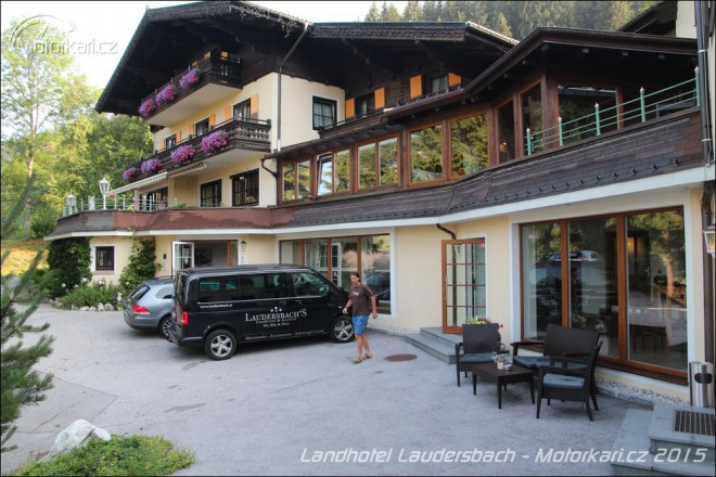 Landhotel Laudersbach: všechny cesty vedou sem