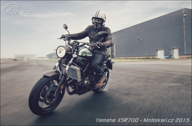 Inspirace minulostí: nová Yamaha XSR700