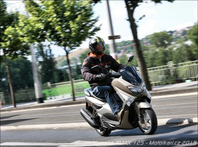 Yamaha NMAX 125: první jízda