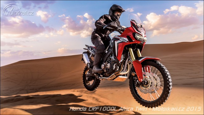 Honda CRF1000L Africa Twin je oficiálnì pøedstavena