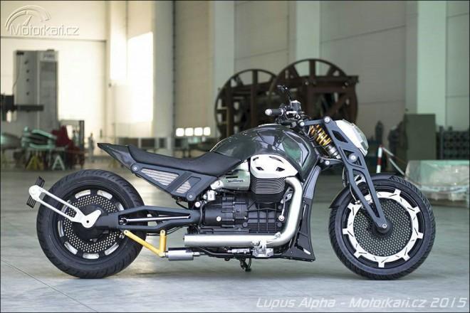 Moto Guzzi California od Officine Rossopuro